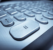 Keyboard Button Macro Stock Photography