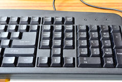 Keyboard buttons. In computing, a keyboard is a typewriter-style device, which uses an arrangement of buttons or keys, to act as mechanical levers or electronic Royalty Free Stock Image