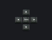 Keyboard buttons Idea Royalty Free Stock Images