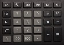 Keyboard of the calculator Royalty Free Stock Photo