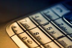 Keyboard Cell Macro Stock Image