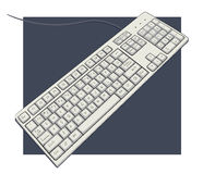Keyboard with characters Stock Images
