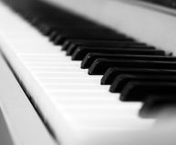 Keyboard classical instrument Stock Image