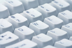 Keyboard close-up Stock Photography