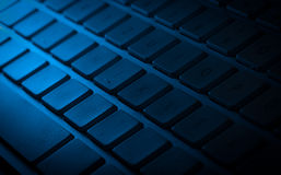Keyboard close-up with copy space Stock Image