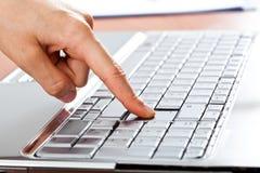 Keyboard closeup Royalty Free Stock Photography