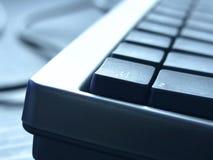 Keyboard closeup. PC keyboard closeup view Stock Image