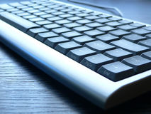 Keyboard closeup Stock Images