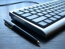 Keyboard closeup. PC keyboard closeup view Royalty Free Stock Photo