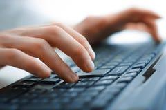 Keyboard closeup view Stock Images