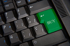 Keyboard of computer Stock Photos