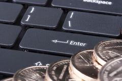 Keyboard computer Stock Photo