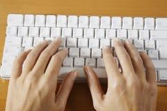 Keyboard computer Stock Image