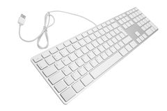 Keyboard for a computer stock image