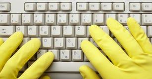 Keyboard computer digital Royalty Free Stock Images