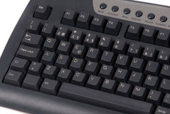 Keyboard of a computer Stock Photos