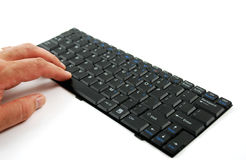 Keyboard for a computer Royalty Free Stock Photography
