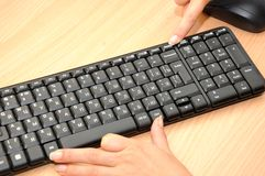 Keyboard Ctrl Alt Del Stock Photography