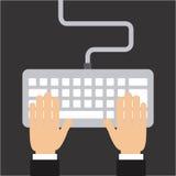 Keyboard design Royalty Free Stock Image