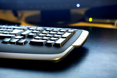 Keyboard detail Royalty Free Stock Photos