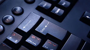 Keyboard detail Stock Image