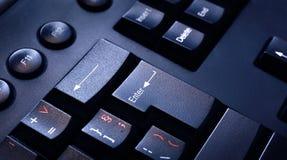 Keyboard detail stock image