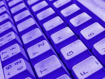 Keyboard detail Royalty Free Stock Images