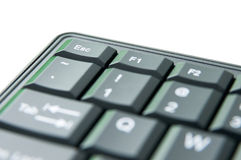 Keyboard detail Royalty Free Stock Photography