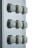 Keyboard with digital buttons Royalty Free Stock Photography