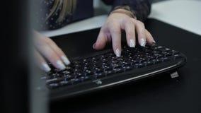 Keyboard stock video