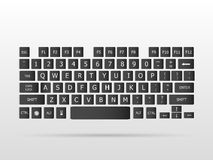 Keyboard Floating Royalty Free Stock Photos