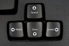 Keyboard future Royalty Free Stock Photography