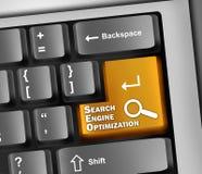 Keyboard Illustration SEO Stock Image