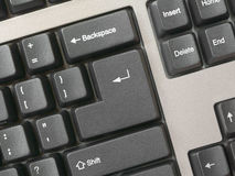 Keyboard -  key Enter, clean Stock Photography