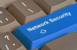 Key for network security Stock Photo