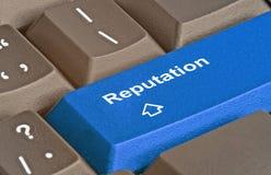 Key for reputation Stock Image