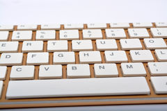 Keyboard keys closeup modern design Royalty Free Stock Photos