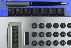 Keyboard keys laid out the word success Royalty Free Stock Photography