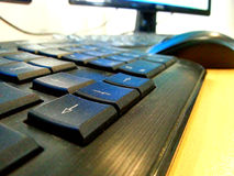 Keyboard keys Stock Photography