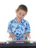 Keyboard Kid Stock Images