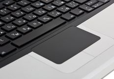 Keyboard laptop Royalty Free Stock Photography