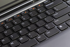 Keyboard of a Laptop Stock Image