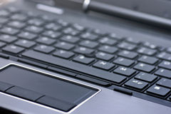 Keyboard of a laptop Stock Photography