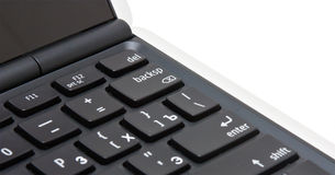 Keyboard laptop Stock Image