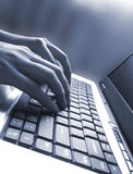 Keyboard of laptop #3 Stock Photo