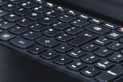 Keyboard of laptop Royalty Free Stock Photography
