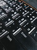 Keyboard layout Royalty Free Stock Photography