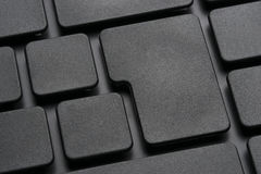 Keyboard without letters Royalty Free Stock Image