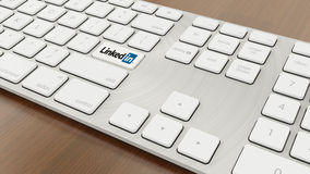 Keyboard Linked in Royalty Free Stock Photos
