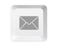 Keyboard mail button Royalty Free Stock Photography